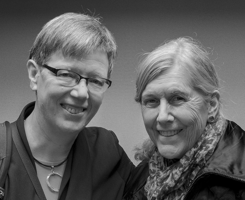 Portraits of Marcia Rioux and Jutta Treviranus